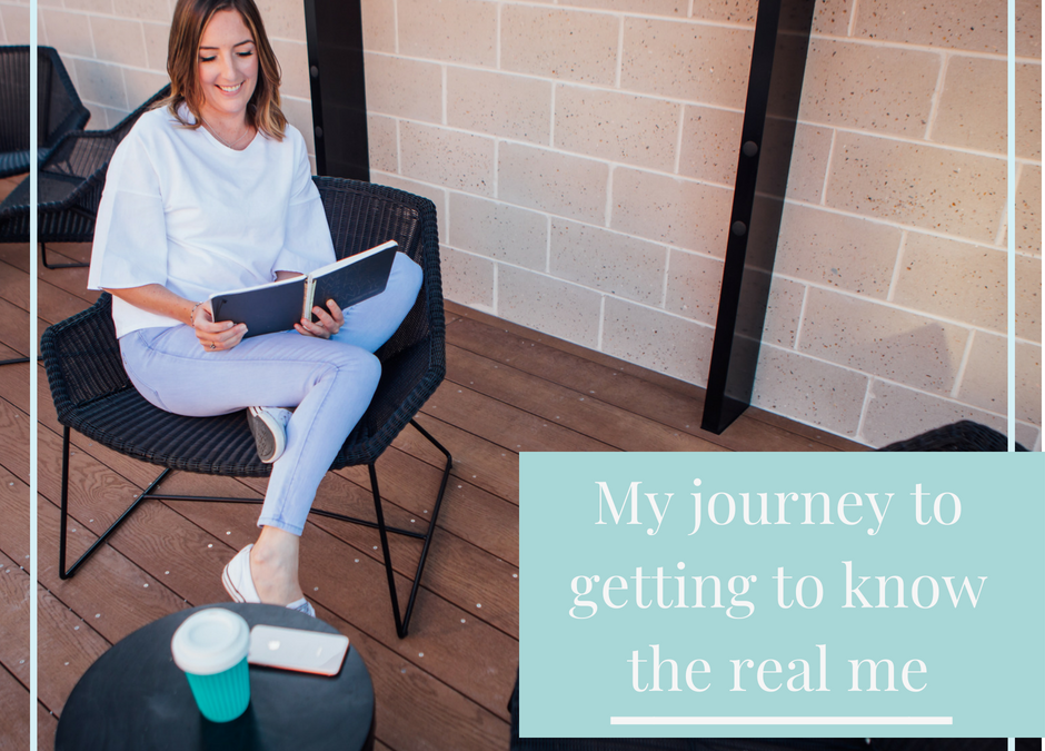 My journey to getting to know the real me